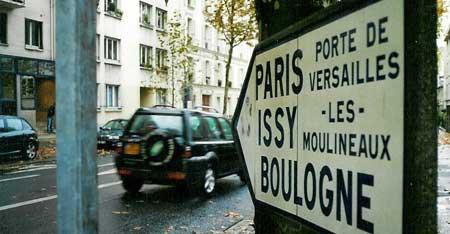 Sur ma route paris - Se garer porte de versailles ...