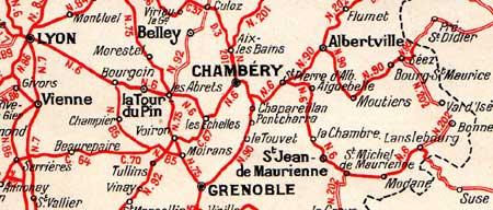 Sur Ma Route Rn6 Nationale 6 Lyon Chambery Modane Mont Cenis